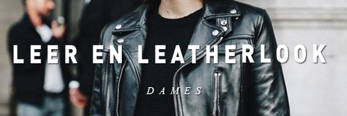 Dames leer en leatherlook