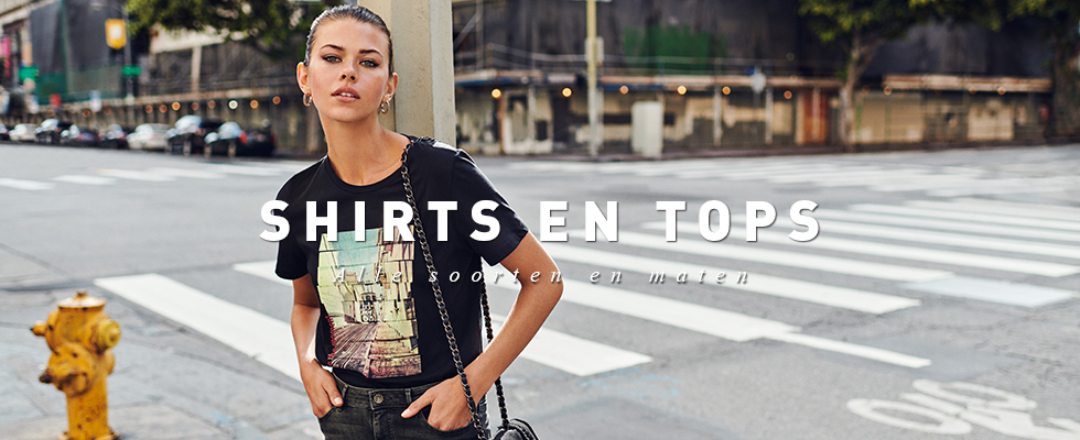 Shirts en tops dames