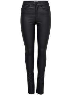 Only ONLANNE K MID WAIST COATED Skinny Fit black 15151791