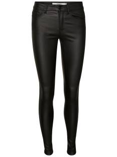 Vero Moda VMSEVEN NW SS SMOOTH COATED Skinny Fit black coated 10138972