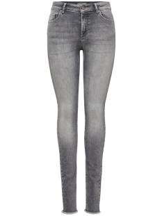 Only ONLBLUSH MID SK ANK RAW JEANS Skinny Fit grey denim 15188520