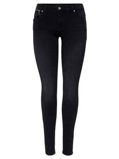 Only ONLISA4 LIFE ZIP REG SKINNY Skinny Fit ana216 black denim