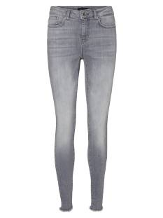 Vero Moda Jeans Vero Moda VMHANNA MR SK RAW EDG JEANS Skinny Fit ba2158 light grey denim 10241034