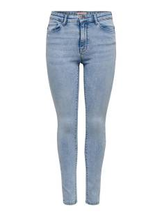 Only Jeans Only ONLPAOLA LIFE HW SKINNY ANK AZG8 Skinny Fit light blue denim 15198010