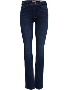 Only Jeans Only ONLPAOLA HW FLARED BB JNS Flare dark blue 15170664