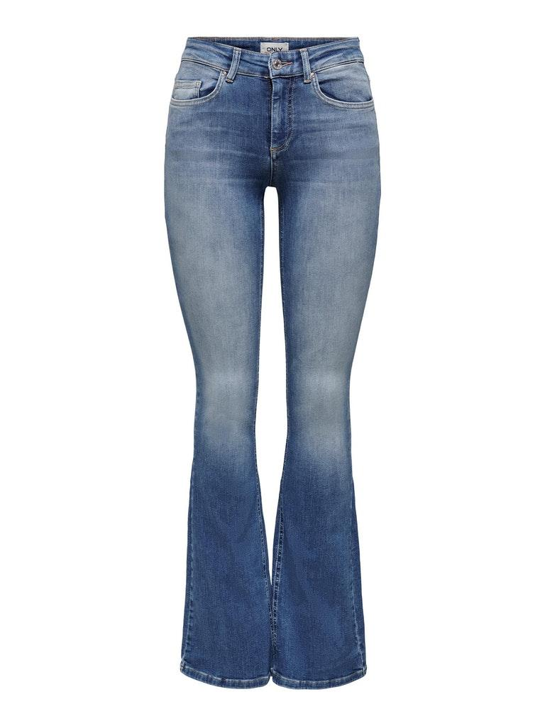 Only dames Jeans ONLBLUSH LIFE MID FLARED BB REA1 XS/30 Onbekend