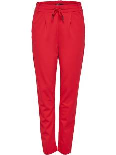 Only Broek Only ONLPOPTRASH EASY COLOUR PANT Broek flame scarlet 15115847