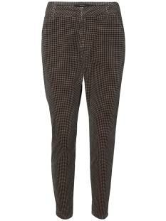 Vero Moda Broek Vero Moda VMVICTORIA MR ANTIFIT PRINT Broek checks black and birch