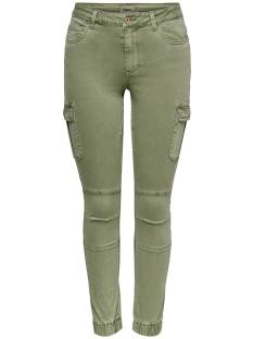 Only Broek Only ONLMISSOURI REG ANK LIFE CARGO Broek oil green 15170889