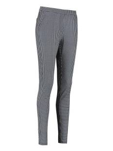 Studio Anneloes Broek Studio Anneloes Pascal small check trouser 04376 Broek 1169 off white/dark blue