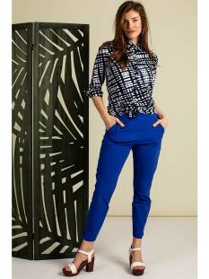 Studio Anneloes Broek Studio Anneloes Startup trousers 04661 Broek 6500 royal blue