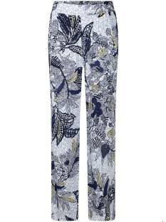 Tramontana Broek Tramontana C02-95-101 TROUSERS BATIK LEAVES Broek 9990 print whites