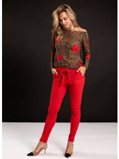 Studio Anneloes Broek Studio Anneloes Downstairs trousers 04792 Broek 3000 red