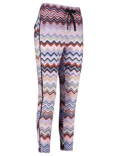 Studio Anneloes Upline missoni trousers 04842 Broek 3368 terra/skyblue