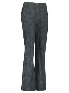 Studio Anneloes Flair snake trousers 05052 Broek 9978 darkgrey/mossgreen