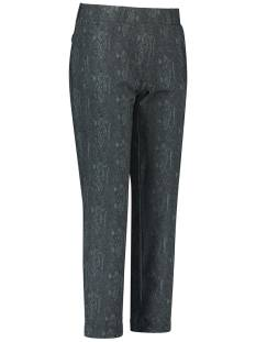 Studio Anneloes Anne snake trousers 05053 Broek 9978 darkgrey/mossgreen