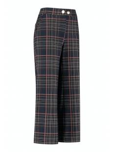 Studio Anneloes Senna check trousers 05147 Broek 6990 dark blue/black