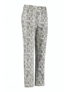 Studio Anneloes Romy cobra leather trouser 05176 Broek 9011 black/off white