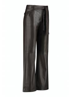 Studio Anneloes Marilyn faux leather tr 05178 Broek 8600 coffee brown