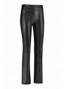 Studio Anneloes Broek Studio Anneloes Hester leather trousers 05276 Broek 9000 black