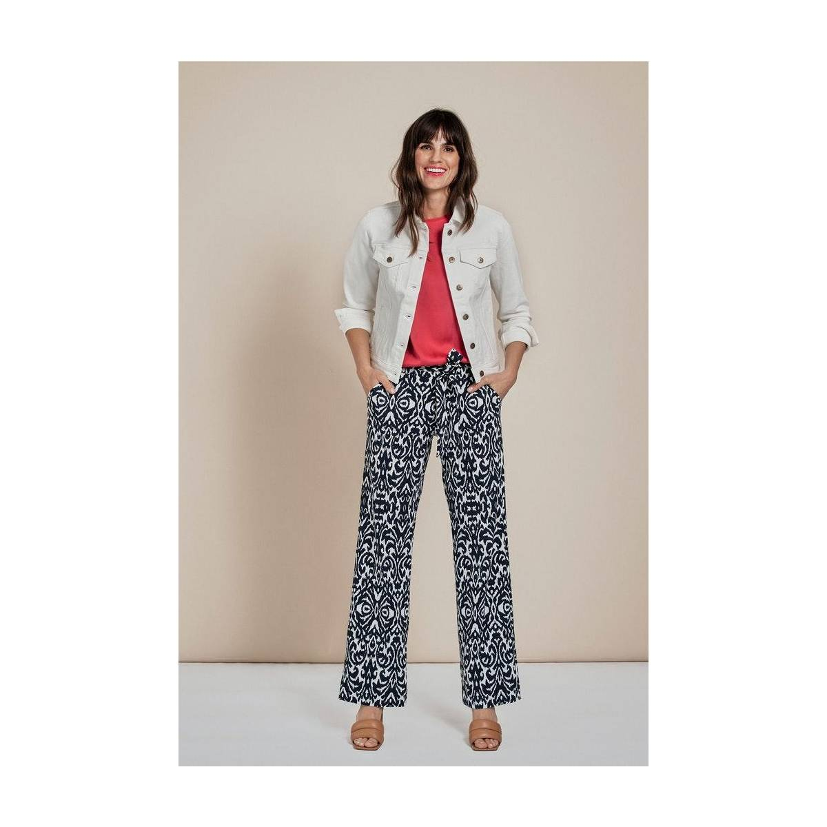 Studio Anneloes Marilyn bazaar trousers 05675 Wit