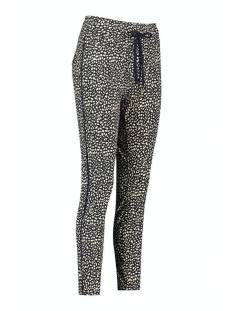 Studio Anneloes Broek Studio Anneloes Road small spot trousers 05660 Broek 6927 dark blue/sahara