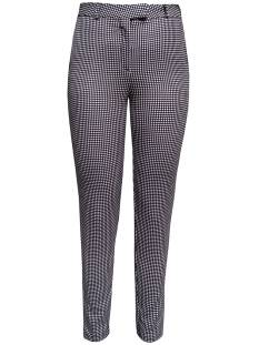 Elvira Broek Elvira E2 20-047 TROUSER KIRSTEN Chino 720 pepita black