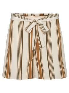 Vero Moda Broek Vero Moda VMATHENS HW SHORTS VMA Korte Broeken  birch stripes 10231141