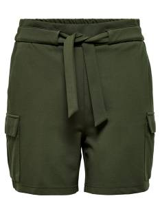 Only Broek Only ONLPOPTRASH CARGO BELT SHORTS Korte Broeken  forest night 15205336