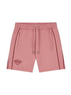 Black Bananas Broek Black Bananas PORTLAND PIPING SHORT Korte Broeken  pink