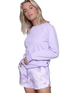 Colourful Rebel Broek Colourful Rebel 10470 TIE DYE SWEAT SHORT Korte Broeken  lilac