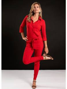 Studio Anneloes Broek Studio Anneloes Angelique jumpsuit 04815 Jumpsuit 3000 red