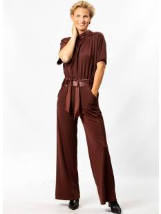 ZIP73 Broek ZIP73 108/02 JUMPSUIT  KM Jumpsuit 07 rusty brown