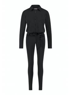 Studio Anneloes Broek Studio Anneloes Angelique zipper jumpsuit 05305 Jumpsuit 9000 black