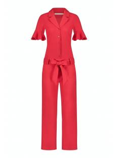 Studio Anneloes Broek Studio Anneloes Joosje jumpsuit 05811 Jumpsuit 3000 red