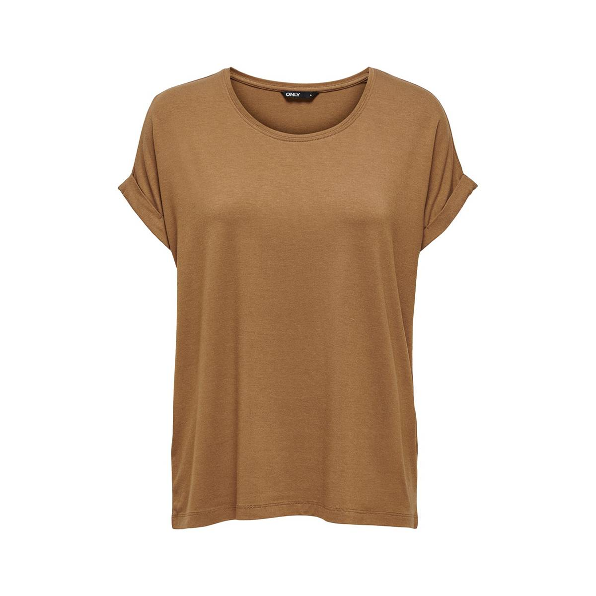 Only ONLMOSTER S/S O-NECK TOP Camel