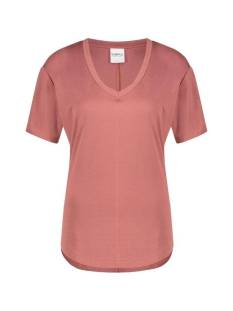 Simple Shirt en Top Simple LISA FC-PIQUE-01 Dames T-Shirts en Tops dusty rose