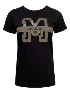 Elvira E5 2-029 T-SHIRT MANDY Dames T-Shirts en Tops 785 black/chocolate