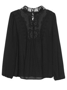 Tramontana C08-84-301 TOP CROCHET NECK Zwart