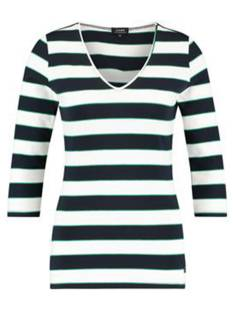 LOES Shirt en Top LOES VANDA SHIRT 01515 T-Shirt Lange mouw 6911 dark blue/off white