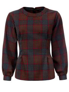 Dayz Shirt en Top Dayz MAUD T-Shirt Lange mouw 121 red check
