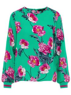 Vero Moda Shirt en Top Vero Moda VMHOLLY LS MIDI TOP T-Shirt Lange mouw holly green 10210142