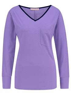 Studio Anneloes Shirt en Top Studio Anneloes TOLLER PERFORATED SHIRT 02587 T-Shirt Lange mouw 5900 mauve