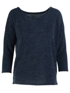 Only Shirt en Top Only ONLALBA 3/4 TOP JRS T-Shirt Lange mouw mood indigo 15177776