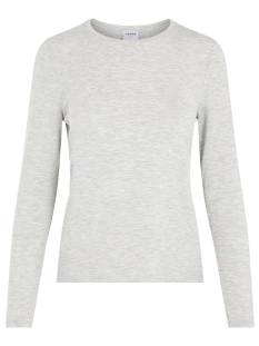 Vero Moda VMAVA L/S TOP GA T-Shirt Lange mouw light grey 10217555