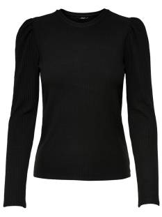 Only Shirt en Top Only ONLEMMA L/S PUFF TOP T-Shirt Lange mouw black 15222328