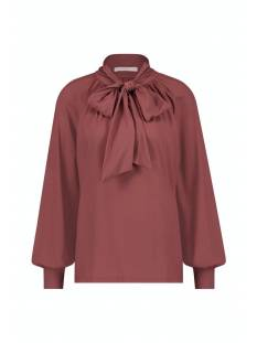 Studio Anneloes Shirt en Top Studio Anneloes Lola blouse 05387 T-Shirt Lange mouw 3900 wine red