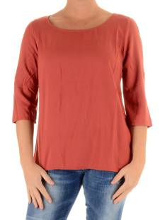 Only Shirt en Top Only ONLGEGGO 3/4 TOP T-Shirt Korte mouw marsala