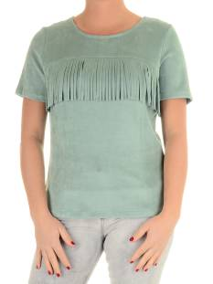 Esqualo Shirt en Top Esqualo SP16.0414 T-Shirt Korte mouw jade