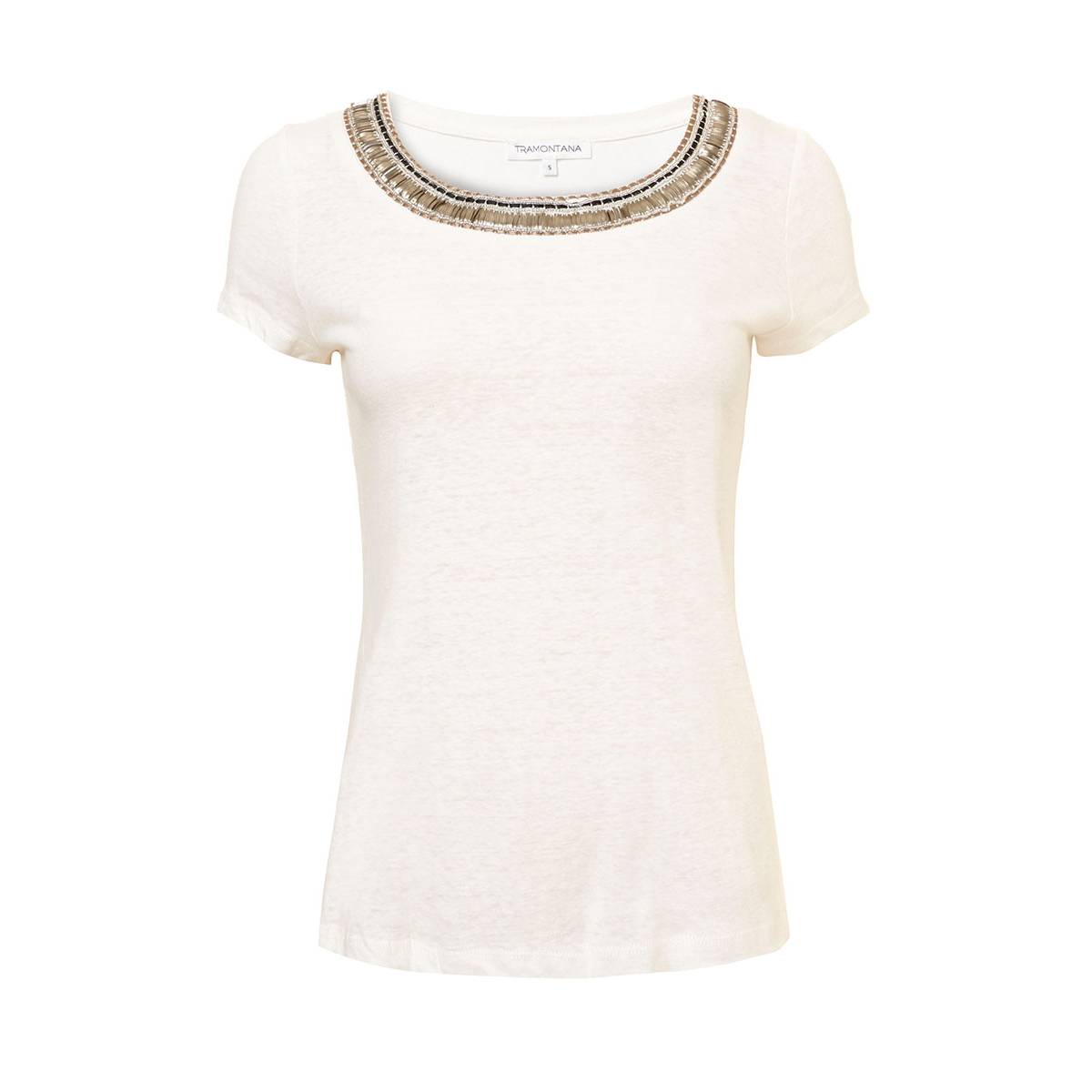 Tramontana Q03-83-402 T-SHIRT LACE BACK Wit